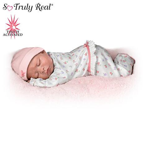 【アシュトンドレイク】Ros Johnson's Sweet Dreams, Maddie ★Breathes★ Wh/赤ちゃん人形/ベビードール