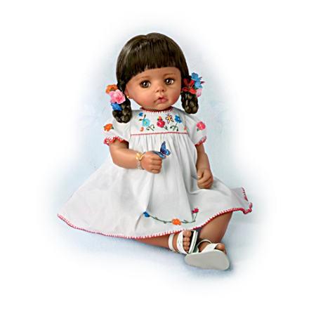 【アシュトンドレイク】Hispanic Baby Sofia Doll With Authentic Dress/赤ちゃん人形/ベビードール