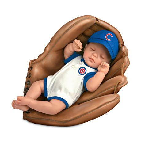 【アシュトンドレイク】MLB-Licensed Chicago Cubs Fan Baby Doll By Cheryl /赤ちゃん人形/ベビードール