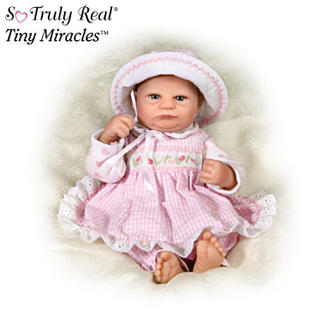 【アシュトンドレイク】★Harriet★ So Truly Real Tiny Miracles Baby Doll/赤ちゃん人形/ベビードール