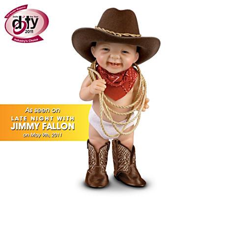 【アシュトンドレイク】Fully Sculpted ★Howdy Pardner★ Cowboy Dolls/赤ちゃん人形/ベビードール
