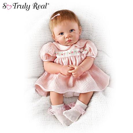【アシュトンドレイク】So Truly Real ★Little Rose Petal★ Doll/赤ちゃん人形/ベビードール