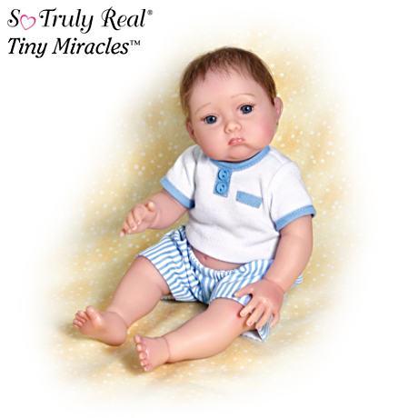 【アシュトンドレイク】★Christopher Needs A Kiss★ Baby Boy Poseable Dol/赤ちゃん人形/ベビードール