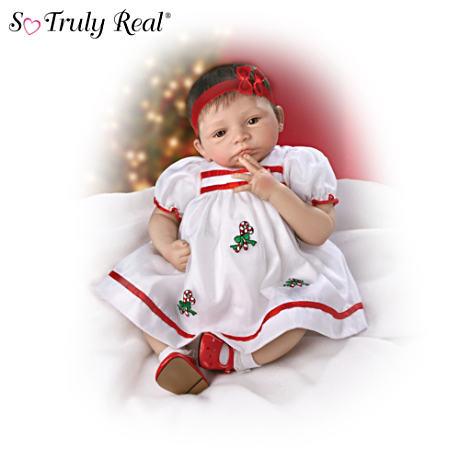 宅配便配送 【アシュトンドレイク】★Noelle's First Christmas★ Christmas★ Lifelike Baby First Doll Lifelike/赤ちゃん人形/ベビードール, 人気激安:f2d2764e --- canoncity.azurewebsites.net
