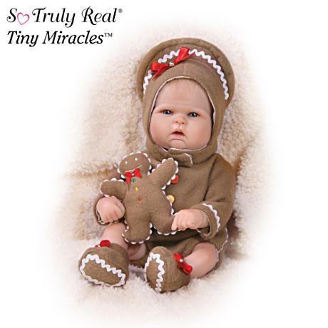 【アシュトンドレイク】★Ginger Ringle★ Lifelike Baby Doll With Gingerbr/赤ちゃん人形/ベビードール