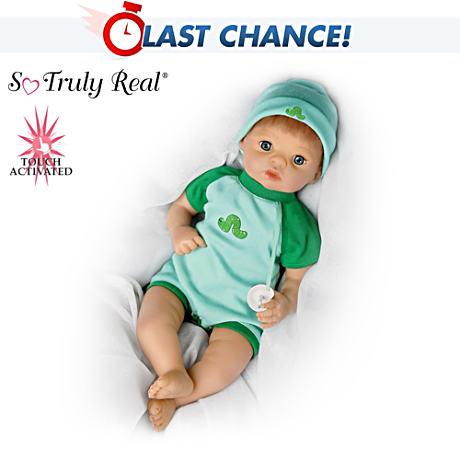 【アシュトンドレイク】★Living Baby★ Boy Doll Kicks, Makes Lifelike Sou/赤ちゃん人形/ベビードール