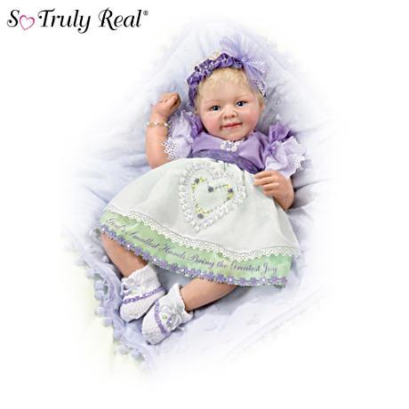 【アシュトンドレイク】★God's Smallest Hands★ Baby Doll With Message/赤ちゃん人形/ベビードール