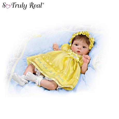 【アシュトンドレイク】★With Faith, All Is Possible★ Baby Doll With Mes/赤ちゃん人形/ベビードール