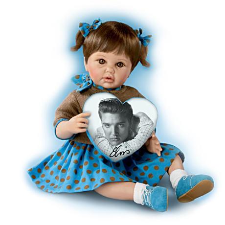【アシュトンドレイク】★Blue Suede Shoes★ Musical Elvis Tribute Baby Do/赤ちゃん人形/ベビードール