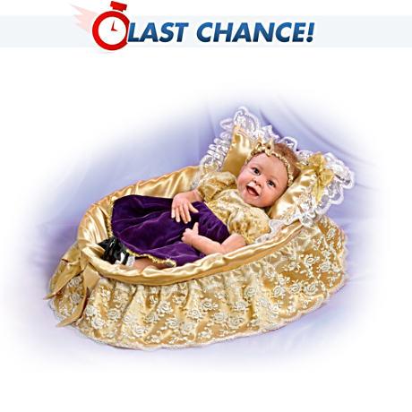 【アシュトンドレイク】Signature-Edition Princess Angelina Realistic Baby/赤ちゃん人形/ベビードール