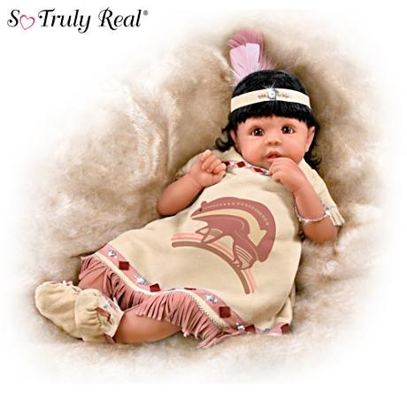 【アシュトンドレイク】Native American-Inspired Baby Doll With Joe Yazzie/赤ちゃん人形/ベビードール