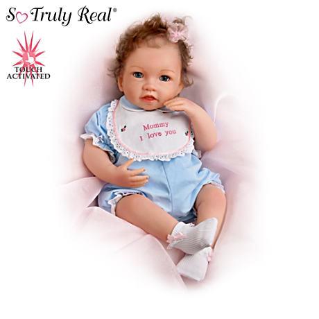 【アシュトンドレイク】So Truly Real Interactive Baby Doll Collection/赤ちゃん人形/ベビードール