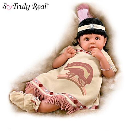 【アシュトンドレイク】Native American-Inspired So Truly Real Dolls With /赤ちゃん人形/ベビードール