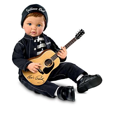 【アシュトンドレイク】Elvis Presley ★Baby, Let's Rock★ Dolls/赤ちゃん人形/ベビードール