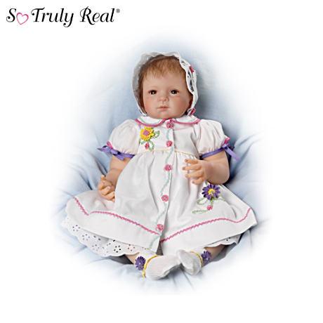 【アシュトンドレイク】Ashton-Drake 25th Anniversary Baby Doll In Floral /赤ちゃん人形/ベビードール