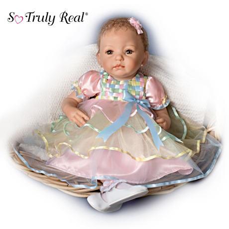 【アシュトンドレイク】So Truly Real ★Adorable Baby Ella★ Doll/赤ちゃん人形/ベビードール
