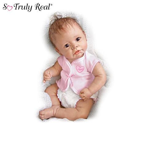 【アシュトンドレイク】Linda Murray Lifelike Baby Girl Doll Collection/赤ちゃん人形/ベビードール