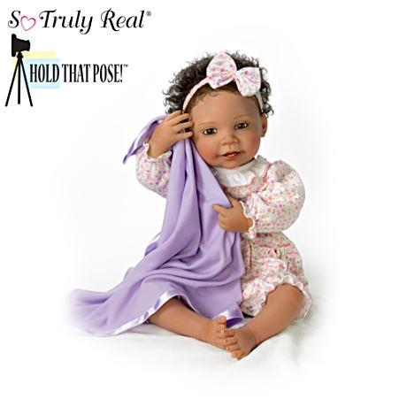 【残りわずか】 【アシュトンドレイク】Pretty Little Peek-A-Boo Poseable Baby Doll By By Peek-A-Boo Wal Baby/赤ちゃん人形/ベビードール, 駿東郡:0895da30 --- canoncity.azurewebsites.net