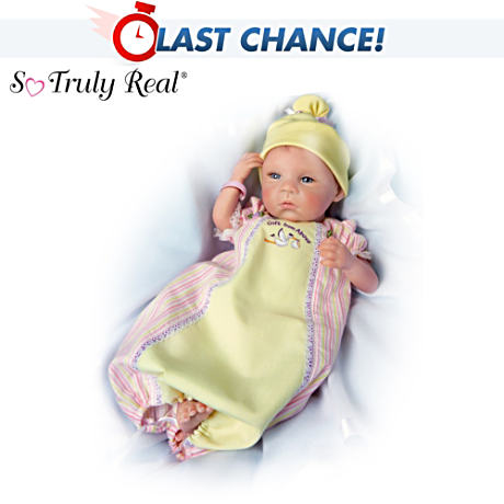 【アシュトンドレイク】So Truly Real ★A Gift From Above★ Early Arrivals/赤ちゃん人形/ベビードール