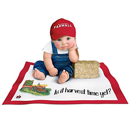 【アシュトンドレイク】Farmall Pride Baby Doll Collection With Blankets/赤ちゃん人形/ベビードール