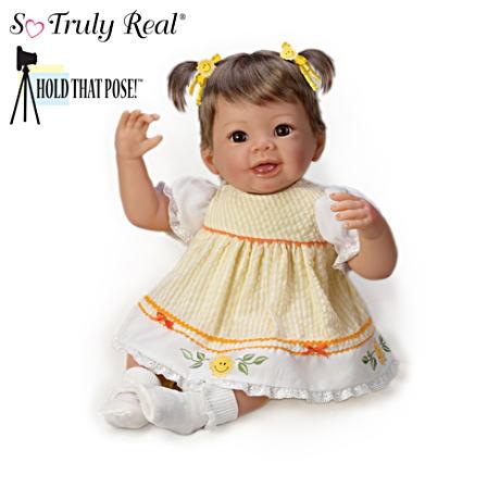 【アシュトンドレイク】Hold That Pose! Baby Girl Dolls By Linda Murray/赤ちゃん人形/ベビードール