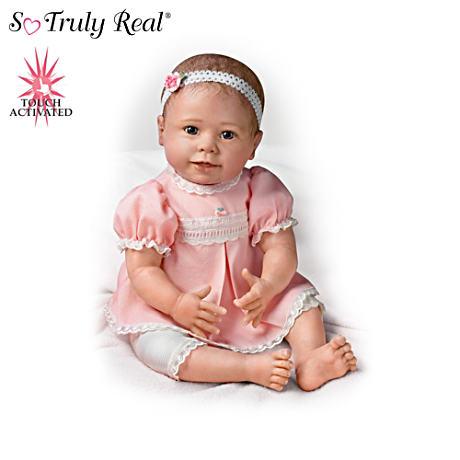 【アシュトンドレイク】Lifelike Baby Dolls Respond To Touch With Sound An/赤ちゃん人形/ベビードール