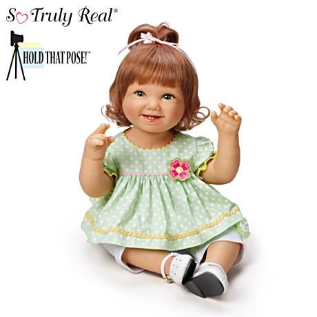 信頼 【アシュトンドレイク】Bonnie Baby Chyle Lifelike★Lily★ Poseable Chyle Lifelike Baby Girl/赤ちゃん人形/ベビードール, アイラブランジェリー:0075c34c --- canoncity.azurewebsites.net