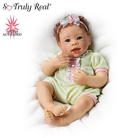 【アシュトンドレイク】Linda Murray ★Raspberry Kisses★ Touch-Activated /赤ちゃん人形/ベビードール
