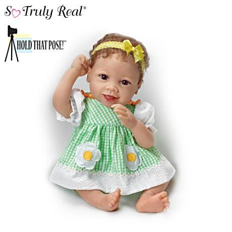 【アシュトンドレイク】Linda Murray ★Put On A Happy Face★ Poseable Baby/赤ちゃん人形/ベビードール