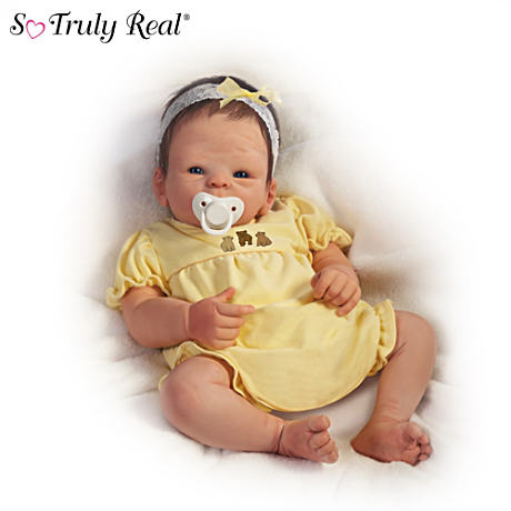 【アシュトンドレイク】Tasha Edenholm ★Boo Bear★ Lifelike Poseable Baby/赤ちゃん人形/ベビードール