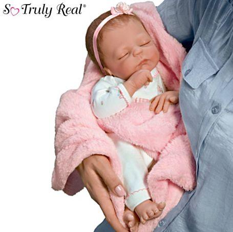 【アシュトンドレイク】Violet Parker Cuddle Caitlyn Baby Doll With Warmin/赤ちゃん人形/ベビードール