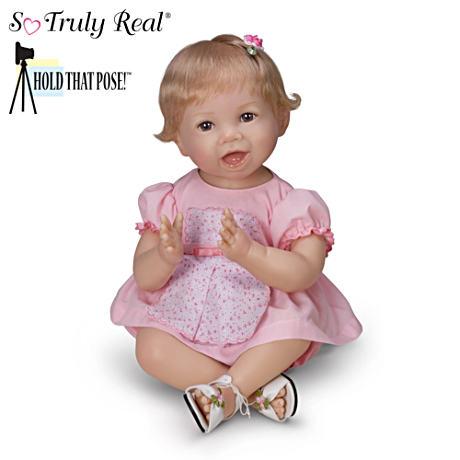 【アシュトンドレイク】Bonnie Chyle ★Hannah★ Poseable Lifelike Baby Gir/赤ちゃん人形/ベビードール