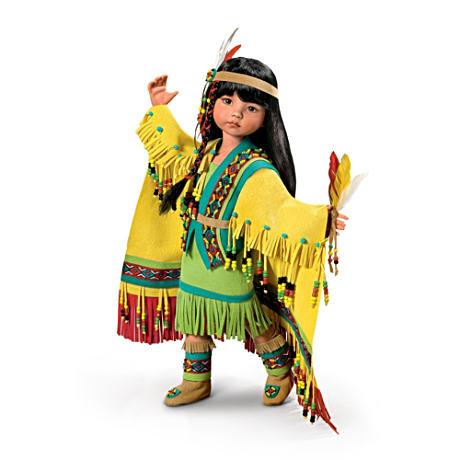 【アシュトンドレイク】★Shawl Dancer★ Native American-Inspired Ball-Joi/赤ちゃん人形/ベビードール