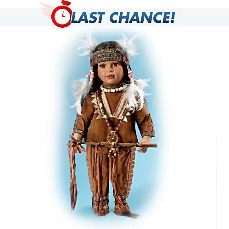 【アシュトンドレイク】Native American-Style ★Tonda★ Doll With Real Fea/赤ちゃん人形/ベビードール