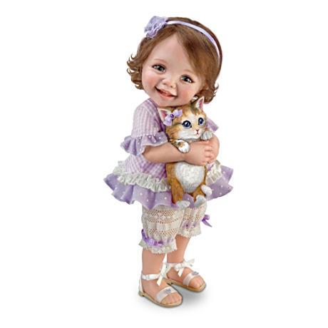 【アシュトンドレイク】Jane Bradbury ★Welcome Home, Kitty★ Poseable Chi/赤ちゃん人形/ベビードール
