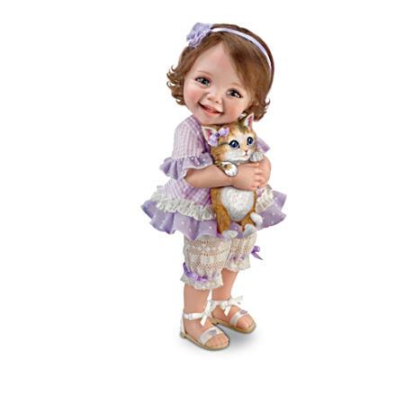 【アシュトンドレイク】Jane Bradbury ★Fur-ever Friends★ Child Doll Coll/赤ちゃん人形/ベビードール