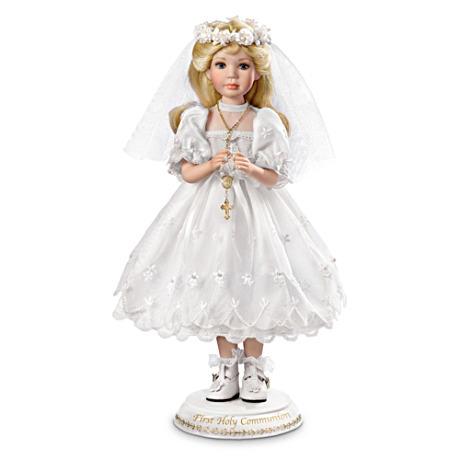 【アシュトンドレイク】Her First Holy Communion Porcelain Doll/赤ちゃん人形/ベビードール