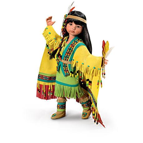 【アシュトンドレイク】Native American-Inspired Ball-Jointed Doll Collect/赤ちゃん人形/ベビードール
