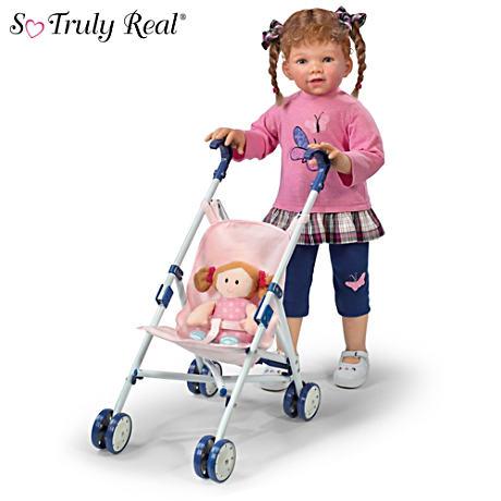【アシュトンドレイク】Waltraud Hanl ★Just Like Mommy★ Doll With Stroll/赤ちゃん人形/ベビードール