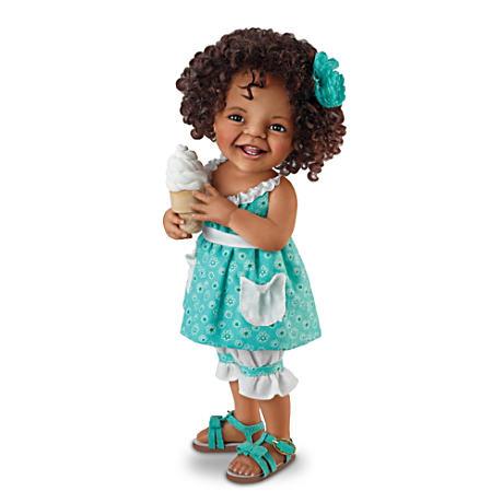 【アシュトンドレイク】Jane Bradbury ★Giggles And Curls★ Poseable Child/赤ちゃん人形/ベビードール