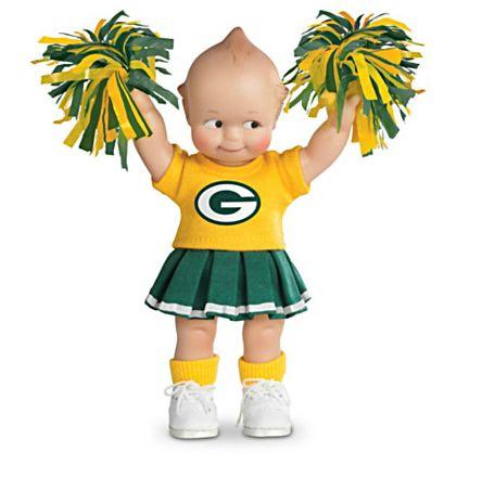 【アシュトンドレイク】NFL-Licensed ★NFL Packer Kewties★ Doll Collectio/赤ちゃん人形/ベビードール