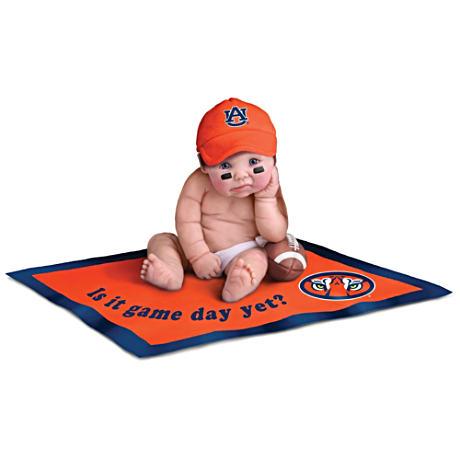 【アシュトンドレイク】Auburn University Tigers Fan Baby Doll Collection/赤ちゃん人形/ベビードール