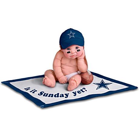 【アシュトンドレイク】NFL Licensed Dallas Cowboys Baby Doll Collection/赤ちゃん人形/ベビードール