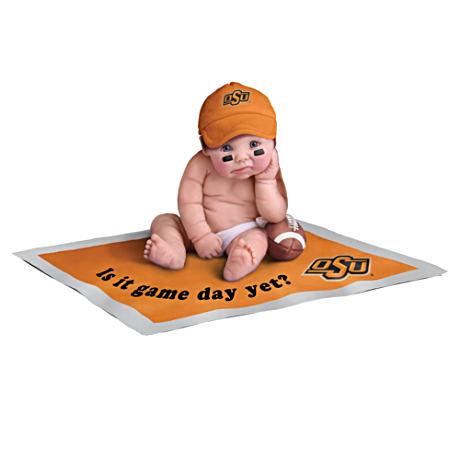 【激安アウトレット!】 【アシュトンドレイク】Oklahoma State Doll Cowboys State Fan Baby Doll Collection/赤ちゃん人形 Cowboys/ベビードール, 観葉植物の専門店 彩植健美:dec9870e --- kventurepartners.sakura.ne.jp