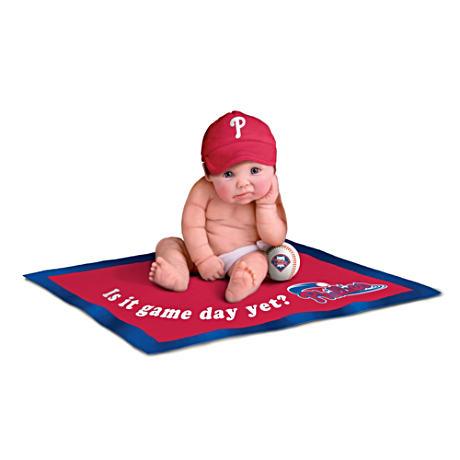 【アシュトンドレイク】Philadelphia Phillies MLB Licensed Baby Doll Colle/赤ちゃん人形/ベビードール