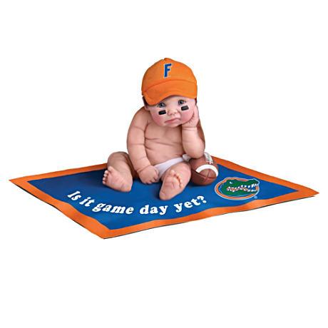 【アシュトンドレイク】Florida Gators Fan Baby Doll Collection/赤ちゃん人形/ベビードール
