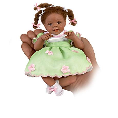 【アシュトンドレイク】Miniature Dolls With Charms And FREE Wicker Basket/赤ちゃん人形/ベビードール