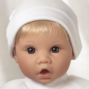 【リーミドルトン】新生児 Little Sweetheart ブロンドヘアー/茶色の目 #0991/赤ちゃん人形/ベビードール