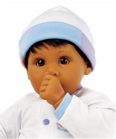 【リーミドルトン】新生児 Darling Angel 茶色の髪/茶色の目 Medium Skintone/赤ちゃん人形/ベビードール