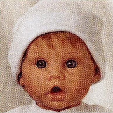【リーミドルトン】新生児 Little Sweetheart ストロベリー ブロンドヘアー/ /赤ちゃん人形/ベビードール